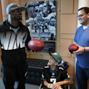 Vick shows leadership skills on and off field The Associated Press