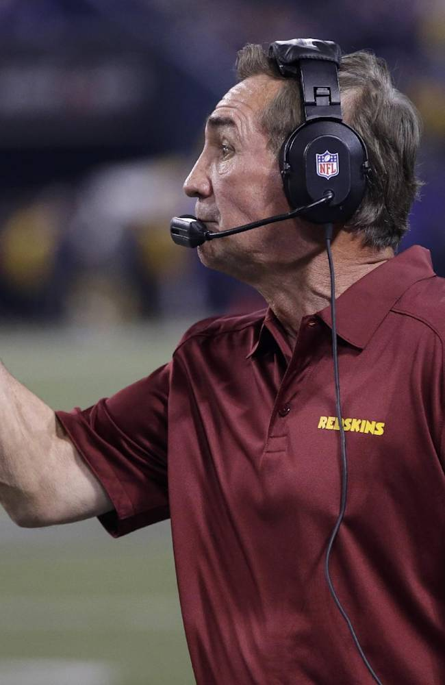 Shanahan tries to put positive spin on 3-6 Skins