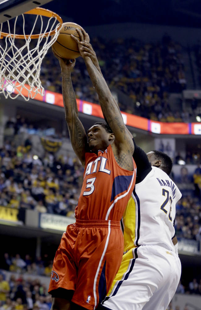 Hawks take series lead with 107-97 win at Indiana