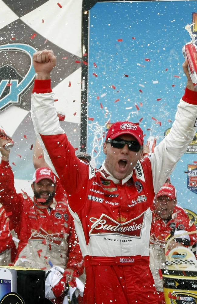 Harvick closing out RCR run with a flourish