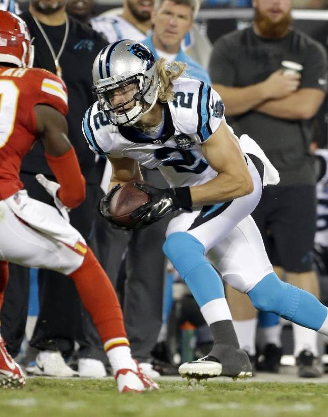 Panthers WR Bersin follows NFL owner's footsteps
