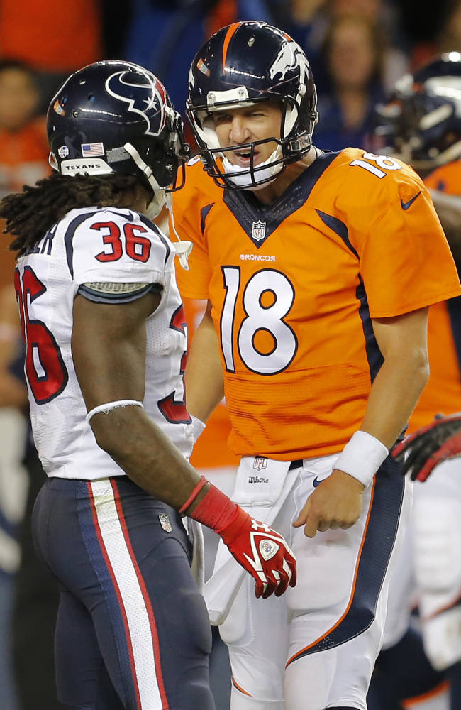 Manning gets fine after taunting Texans safety
