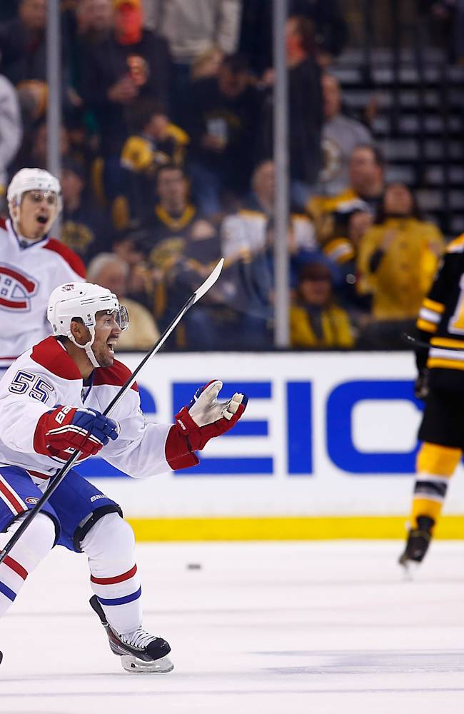 Montreal Canadiens v Boston Bruins - Game One