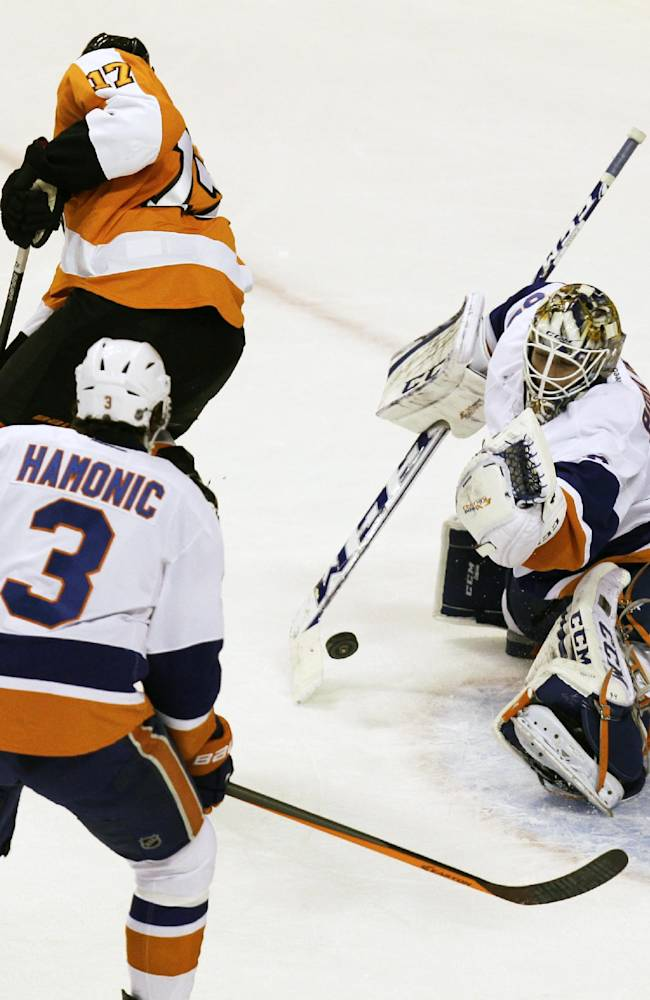 Read, Mason lead Flyers over Islanders