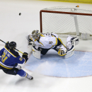 Stastny leads Blues over Predators 4-3 The Associated Press