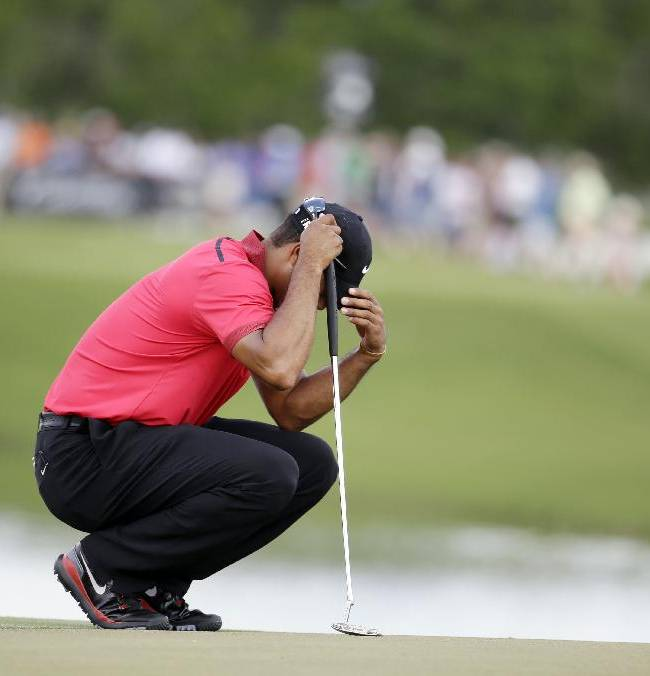 As the world (of Tiger Woods) turns