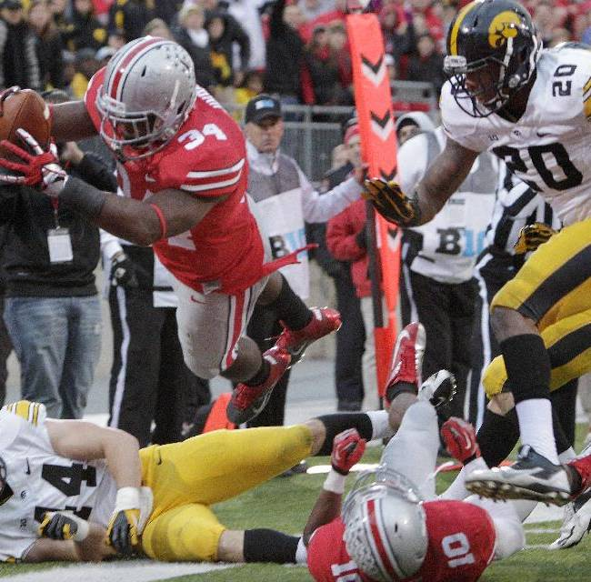 Buckeyes falter at times but keep streak going