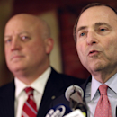 NHL says it is only discussing expanding league The Associated Press