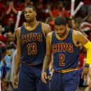 Cavs' Irving misses shootaround, questionable for Game 2 The Associated Press
