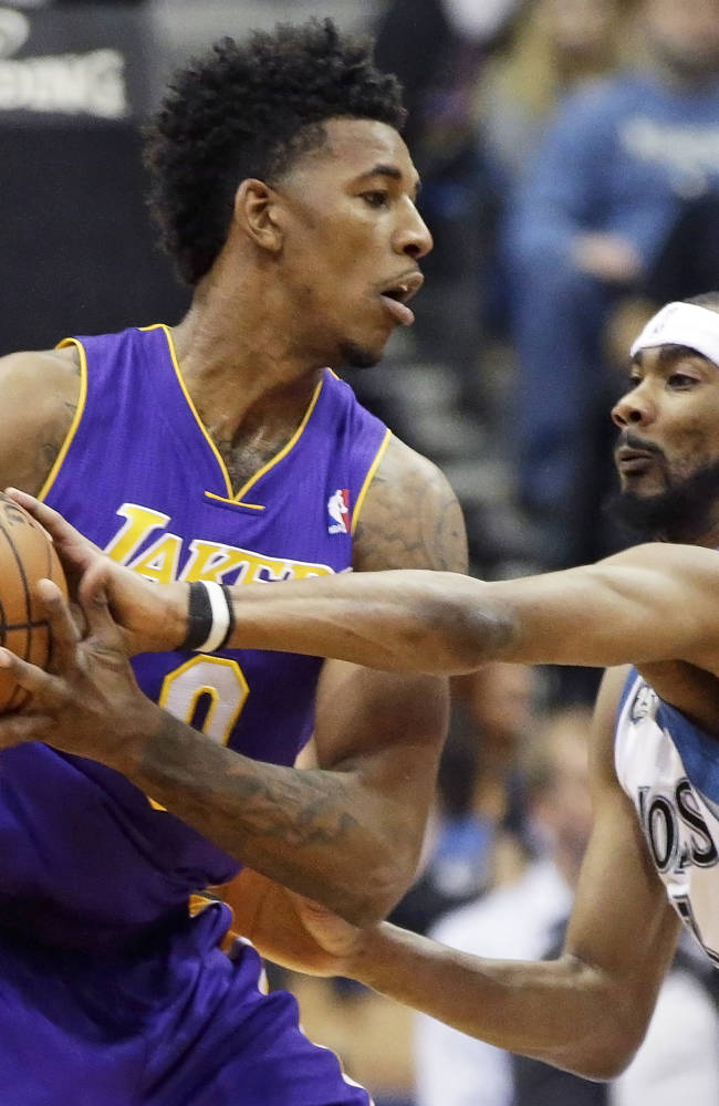 Love, Timberwolves hand Lakers 7th straight loss