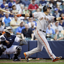 Vogelsong, Giants complete sweep with 3-1 win over Brewers The Associated Press