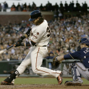 Crawford homers to back Heston as Giants win again, 4-2 The Associated Press