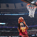 CHICAGO, IL - OCTOBER 31: LeBron James #23 of the Cleveland Cavaliers takes a shot against the Chicago Bulls during a game at the United Center on October 31, 2014 in Chicago, Illinois. (Photo by Nathaniel S. Butler/NBAE via Getty Images)