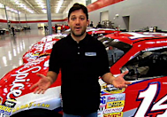 Off Track with Tony Stewart: Stewart-Haas Race Shop