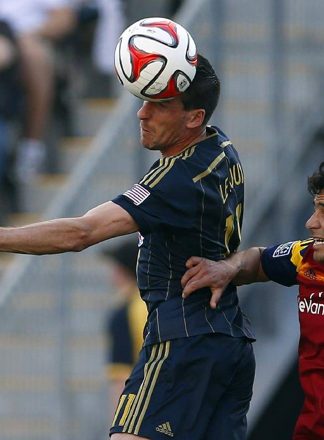 Union rallies to tie Real Salt Lake 2-2