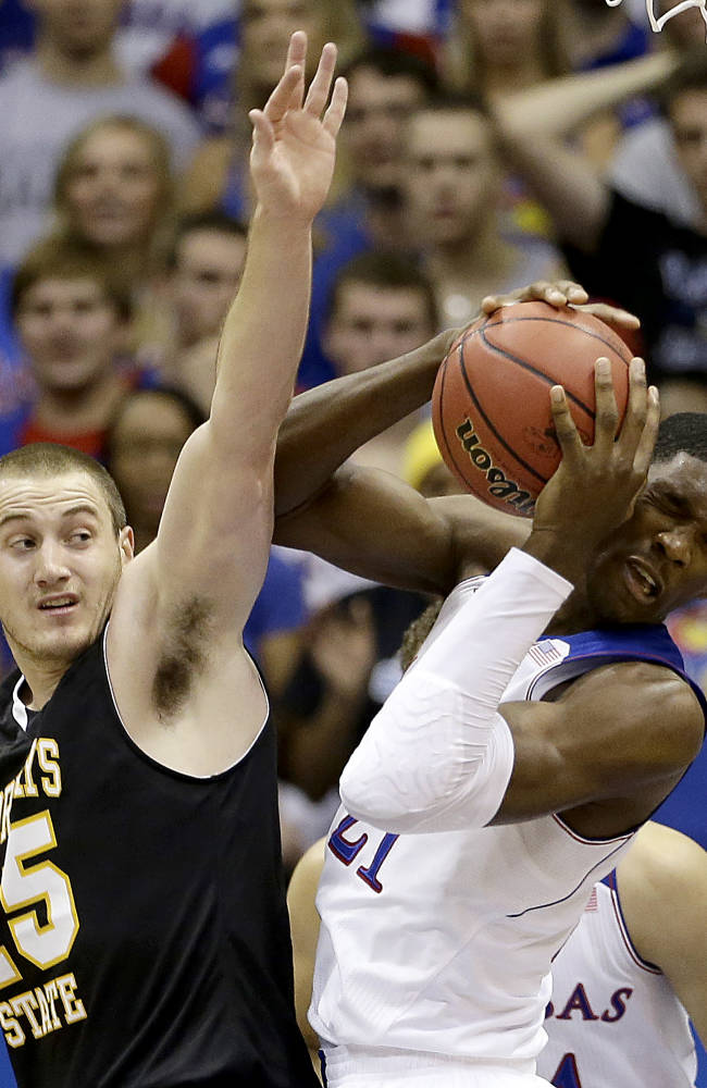 Balanced Kansas cruises past Fort Hays State 92-75
