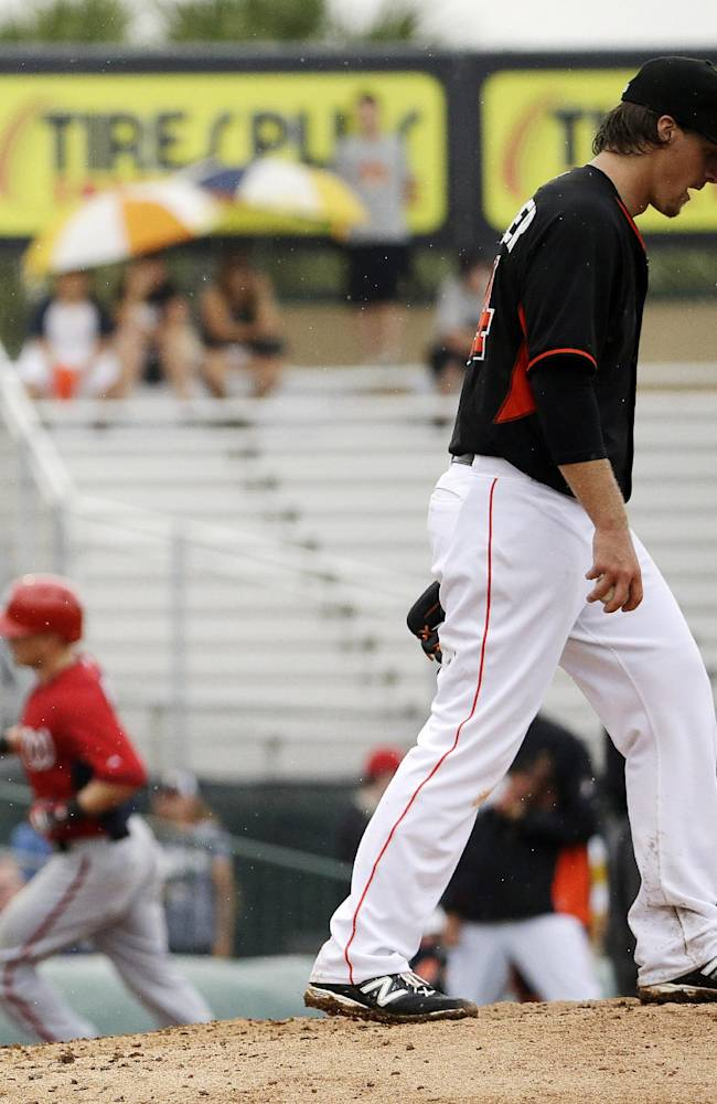 McLouth 2 RBIs leads Nats over Marlins 4-1
