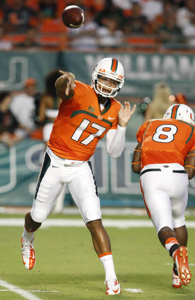Morris aims to play when No. 15 Miami visits USF