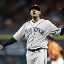 Astros rough up Hernandez in 10-0 win over Seattle The Associated Press