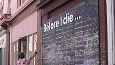 'Before I Die' Walls Inspire, Motivate