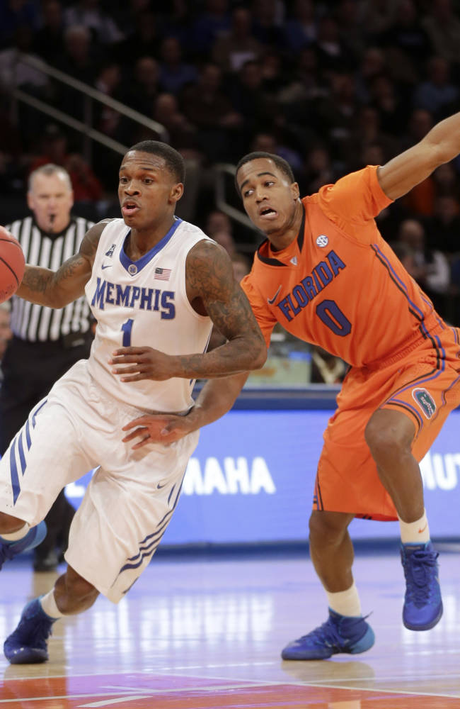 No. 16 Florida beats No. 15 Memphis 77-75