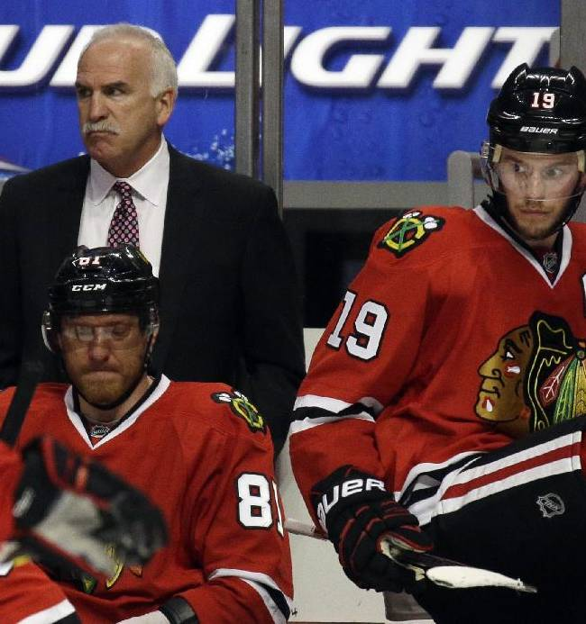 Top priority for Blackhawks: Lock in Toews, Kane