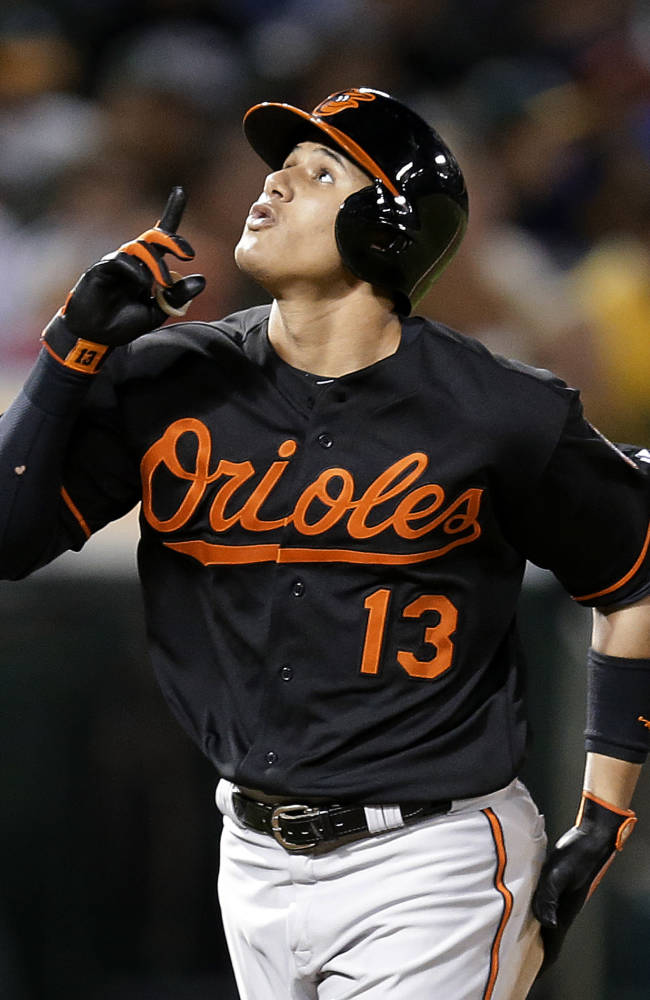 Donaldson's HR in 9th rallies A's past O's, 5-4