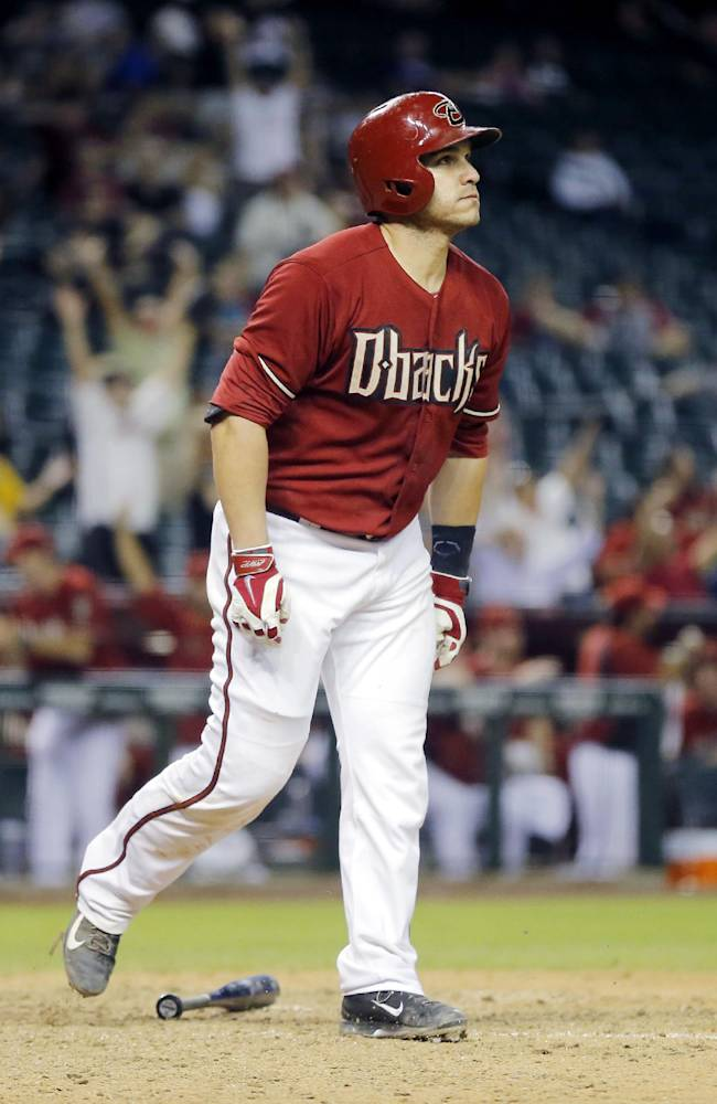 D-backs rally for 5-4 win in 10 against Colorado