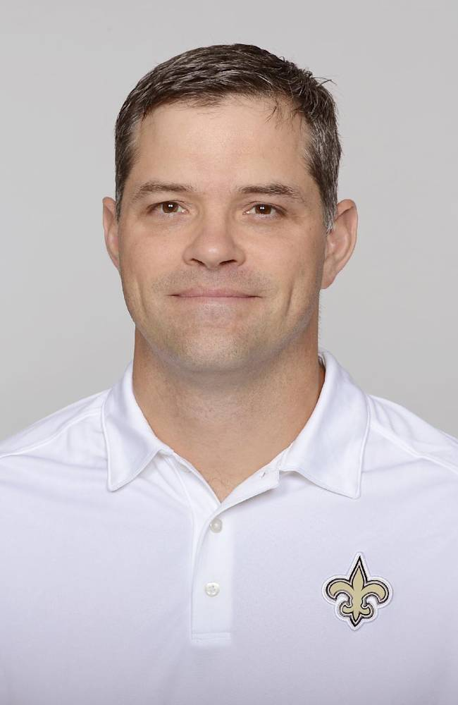 This is a 2013 photo of Joe Lombardi of the New Orleans Saints NFL football team. This image reflects the New Orleans Saints active roster as of Monday, June 3, 2013 when this image was taken. (AP Photo)