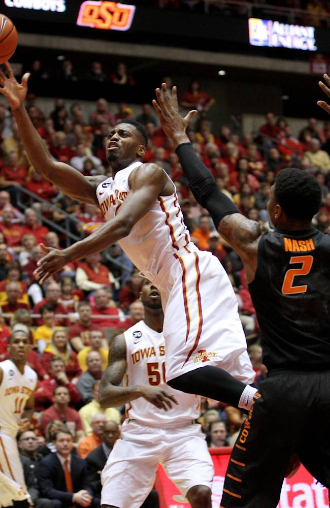 Iowa State's Melvin Ejim AP Big 12 Player of Year