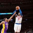 Anthony scores 31 points as Knicks rout Lakers 92-80 The Associated Press