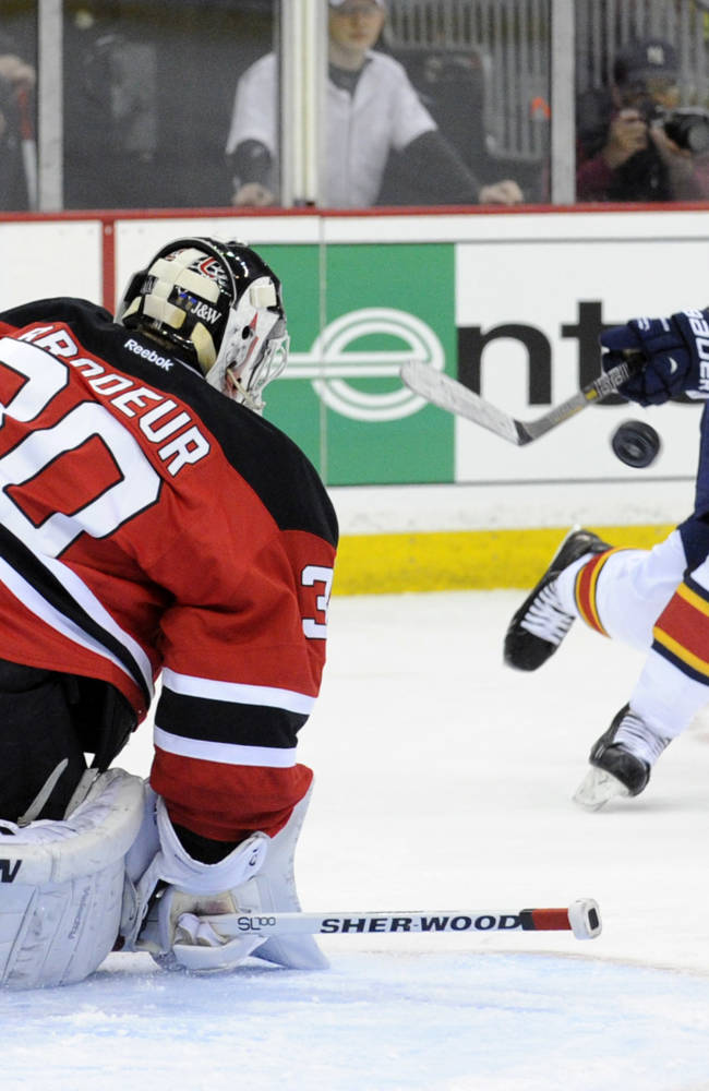 Zajac scores 3 goals, Devils beat Panthers 6-3