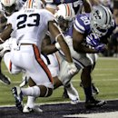 No. 5 Auburn holds off No. 20 K-State, 20-14 The Associated Press