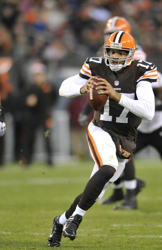 Browns QB Jason Campbell has bruised ribs