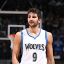 MINNEAPOLIS, MN - OCTOBER 30: Ricky Rubio #9 of the Minnesota Timberwolves during the game against the Detroit Pistons on October 30, 2014 at Target Center in Minneapolis, Minnesota. (Photo by David Sherman/NBAE via Getty Images)