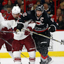 Hurricanes beat Coyotes 3-0 for 1st win of season The Associated Press