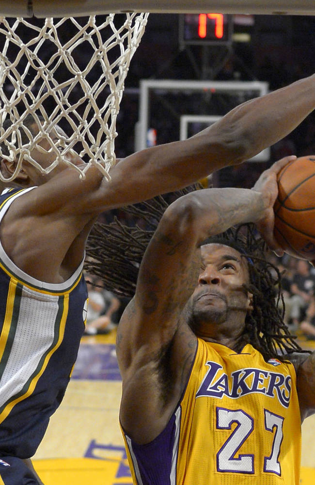 Gasol, Marshall lead Lakers over Jazz 110-99