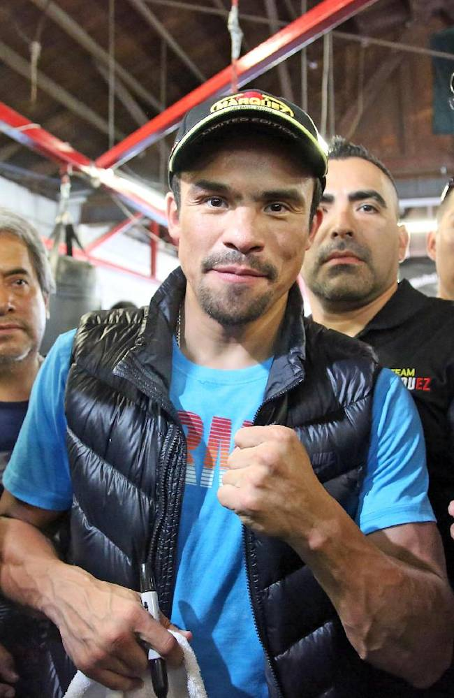 Marquez, Alvarado bring boxing back to the Forum