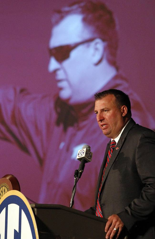 Bielema: Uptempo dangers fact not fiction