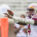 Video shows Florida State quarterback punching woman in face The Associated Press