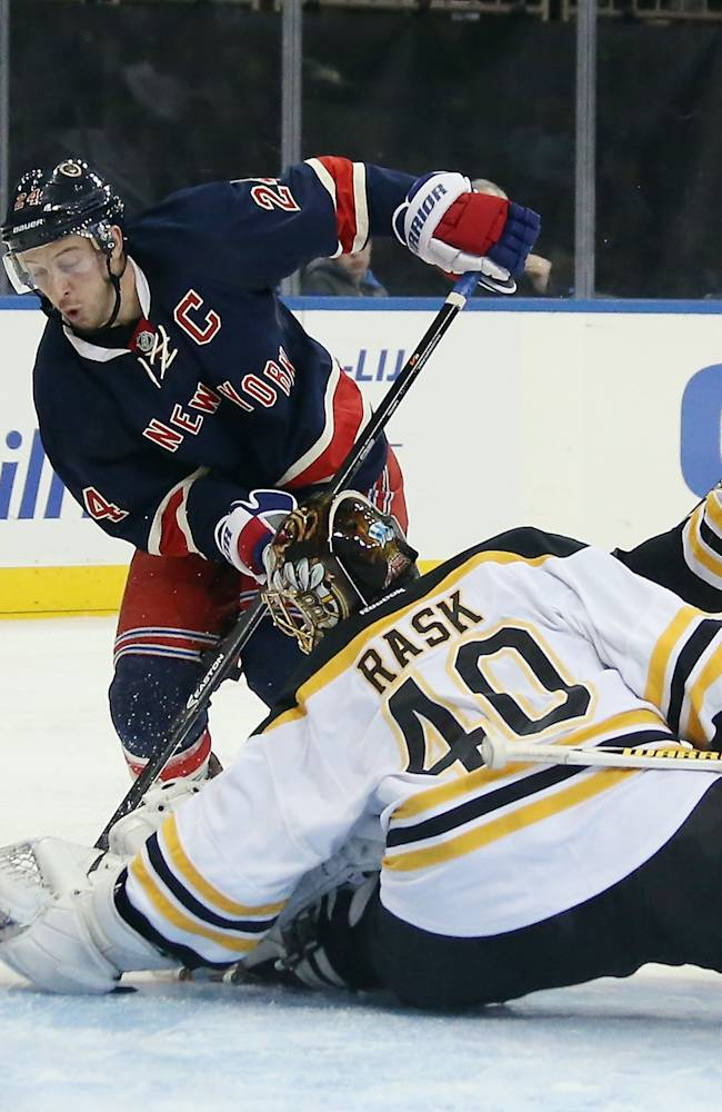 Boston Bruins v New York Rangers