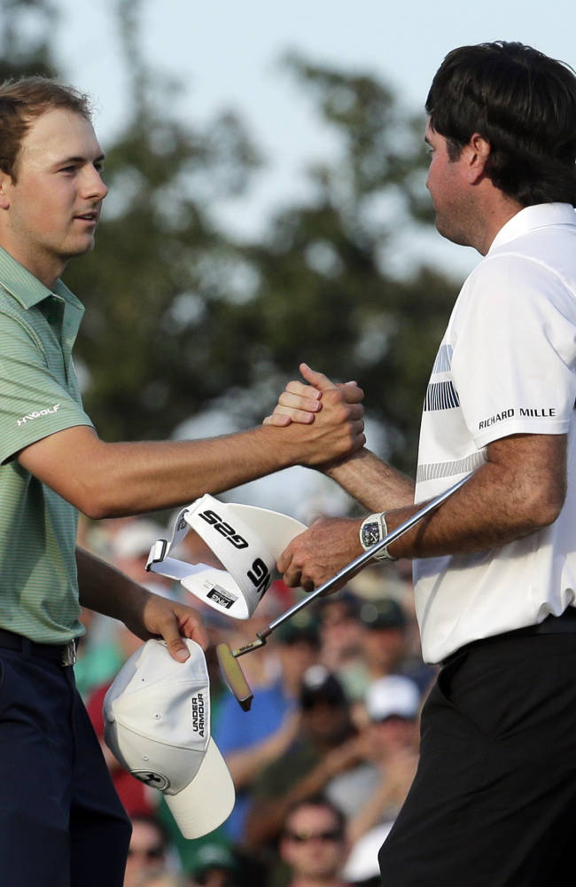 Experience counts on Sunday in the Masters