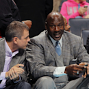 CHARLOTTE, NC - JANUARY 23:  Michael Jordan, owner of the Charlotte Bobcats during the game against the Atlanta Hawks at the Time Warner Cable Arena on January 23, 2013 in Charlotte, North Carolina.  (Photo by Kent Smith/NBAE via Getty Images)