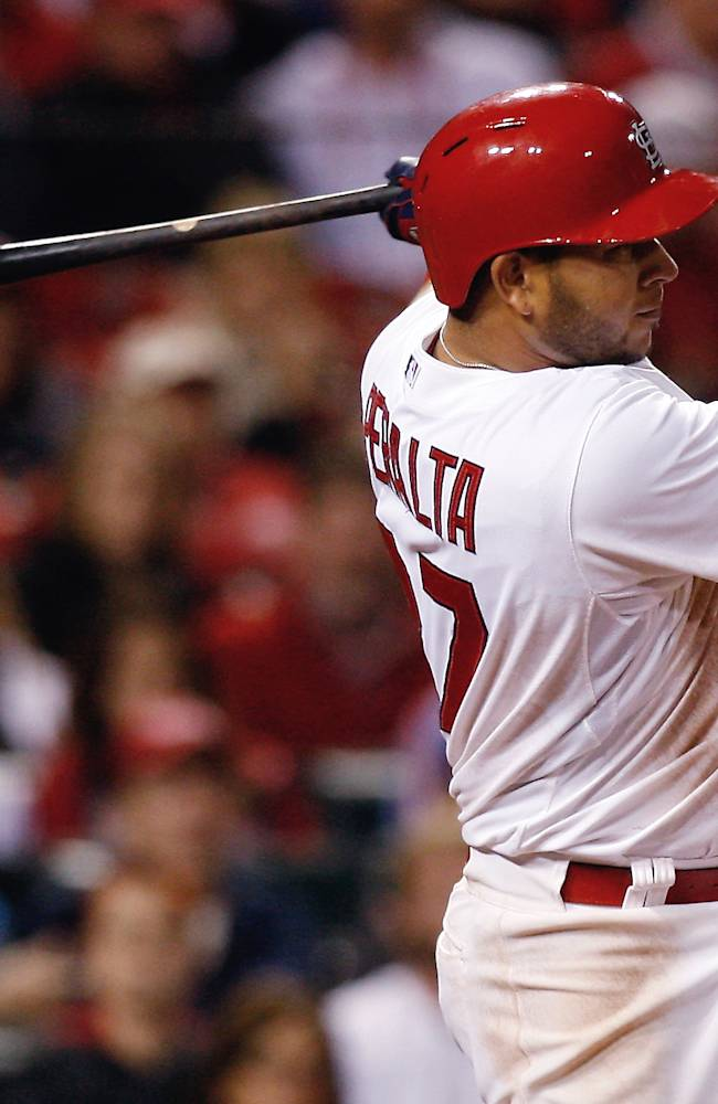 PH Garcia HBP in 12th sends Cardinals over Cubs