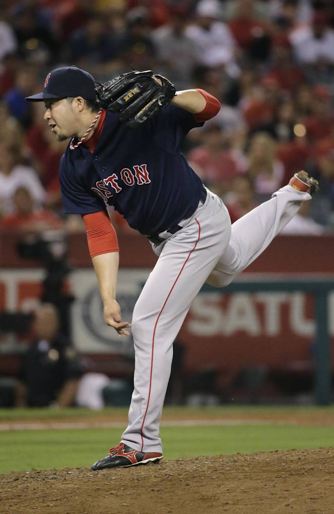 Napoli's HR helps Bosox beat Weaver, Angels 4-2