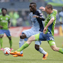 Seattle tops Kansas City 1-0 on late goal The Associated Press