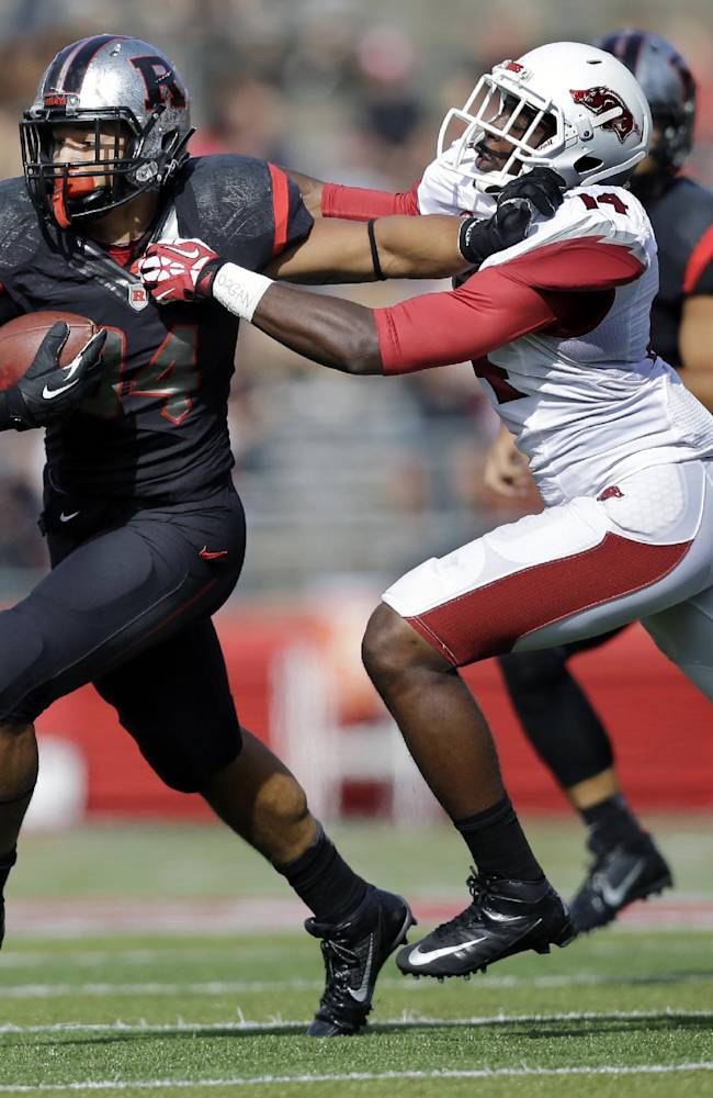 Rutgers RB Paul James out a couple of week