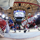 Washington Capitals v New York Rangers - Game Five Getty Images