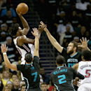 Miami Heat v Charlotte Hornets - Game Three Getty Images