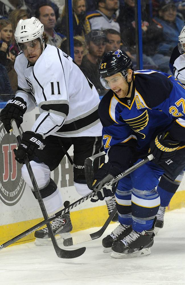 Blues blank Kings 5-0